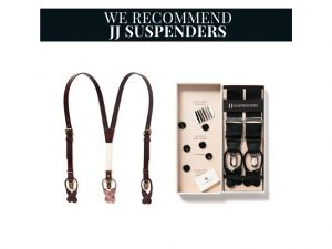 Recommended Wear Suspenders